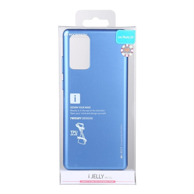 Goospery Samsung Note 20 i-Jelly Metal Case