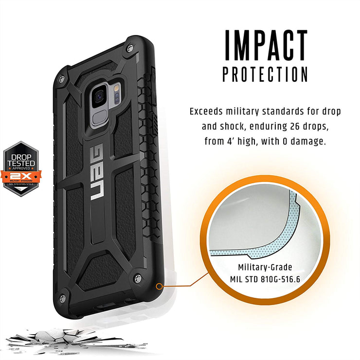 UAG Samsung S9 Monarch Series Case - Mobile.Solutions