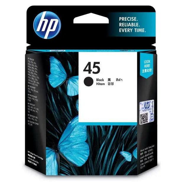 HP 45A Black Ink Cartridge (51645AA)