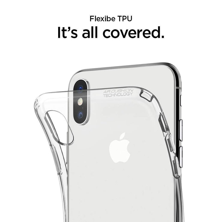 Spigen iPhone XS 5.8 / iPhone X Crystal Flex Case - Mobile.Solutions