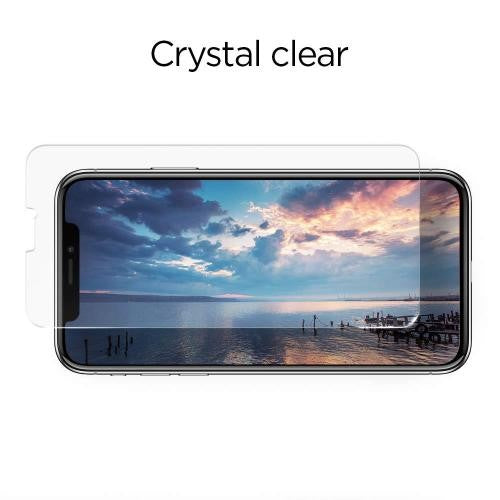 Spigen iPhone 11 Pro 6.1 / iPhone XR 6.1 Screen Protector Glas.tR SLIM HD - Mobile.Solutions