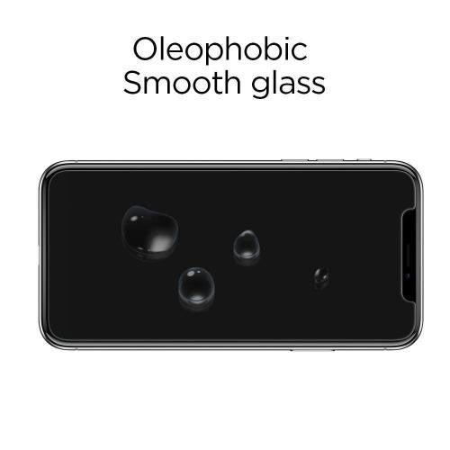 Spigen iPhone 11 Pro 5.8 (2019) / iPhone XS 5.8 / iPhone X Tempered Glass Screen Protector GLAS.tR SLIM HD - Mobile.Solutions