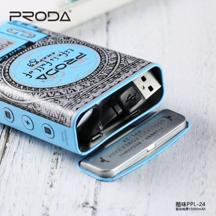 Remax Proda Cool Taste Sweet Candy Style 10000mAh Power Bank / Portable  Charger PPL-24