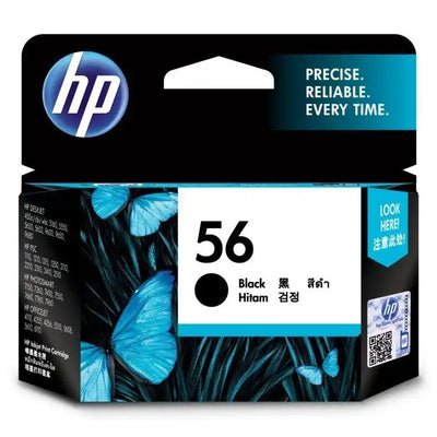 HP 56 Black Ink Cartridge (C6656AA)