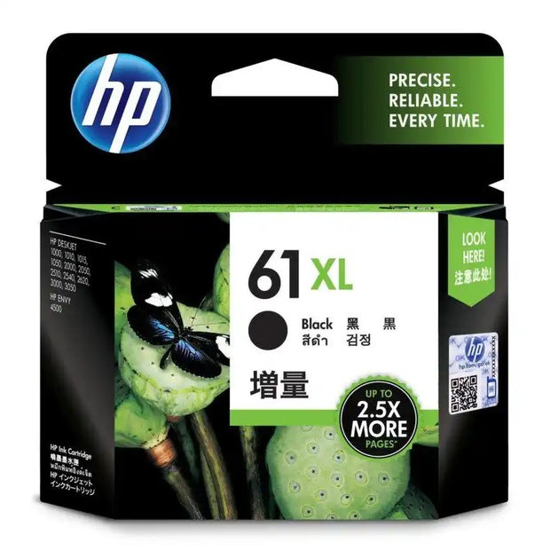 HP 61XL (High Yield) Tri-Color Ink Cartridge (CH564WA)