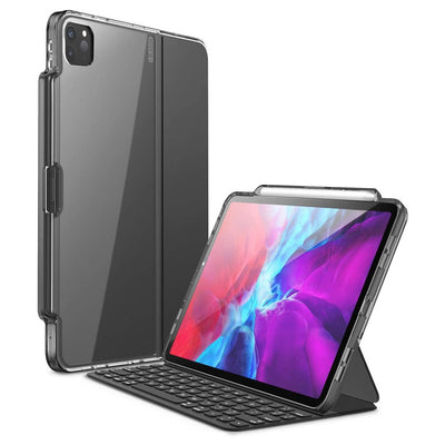 i-Blason iPad Pro 11 (2020) Halo Series Case Compatible with Pencil and Keyboard