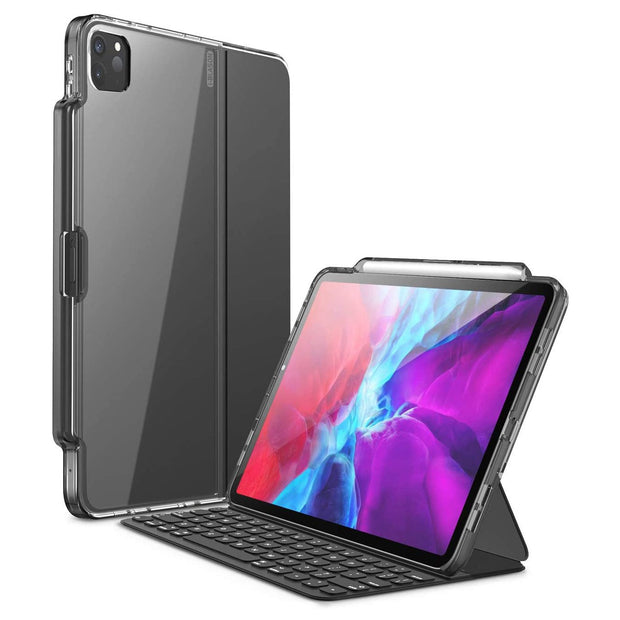 i-Blason iPad Pro 12.9 (2020) Halo Series Case Compatible with Pencil and Keyboard