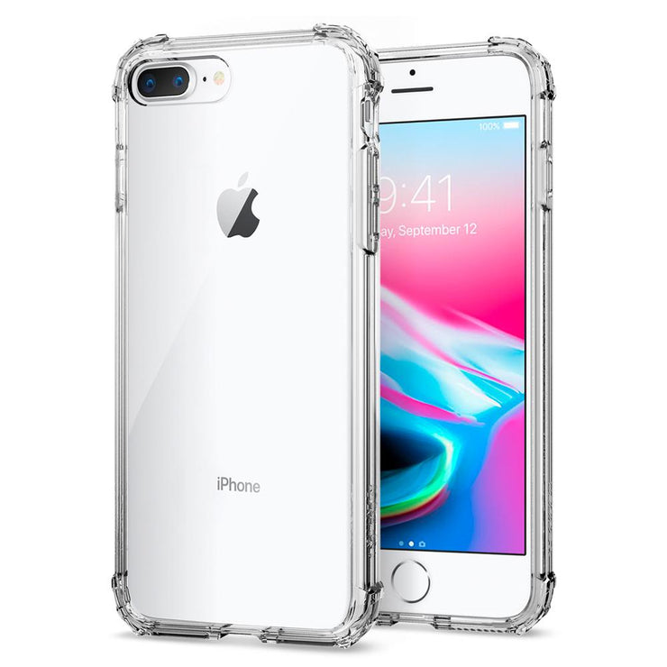 Spigen iPhone 7+ / 8+ Plus Crystal Shell Case - Mobile.Solutions