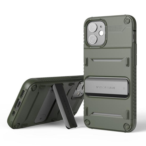 VRS Design iPhone 12 Mini 5.4 (2020) Damda Quickstand Case