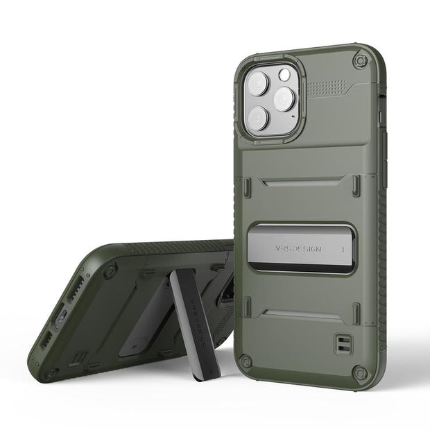 VRS Design iPhone 12 / Pro 6.1 (2020) Damda Quickstand Case