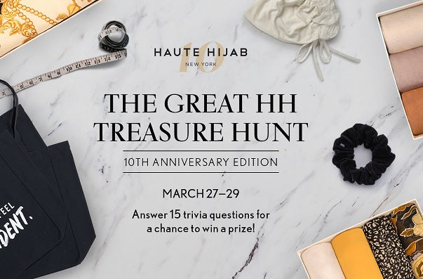 The Great HH Treasure Hunt is BACK - 10th Anniversary Edition! Play to Win!