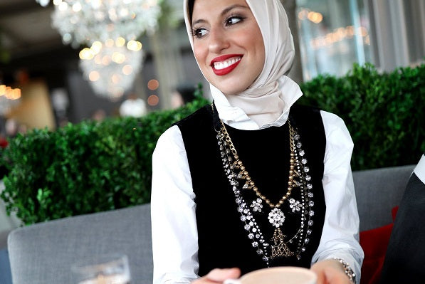 Get Inspired in Your Hijab Styling by Our Winter Edit – Vintage Glamour!
