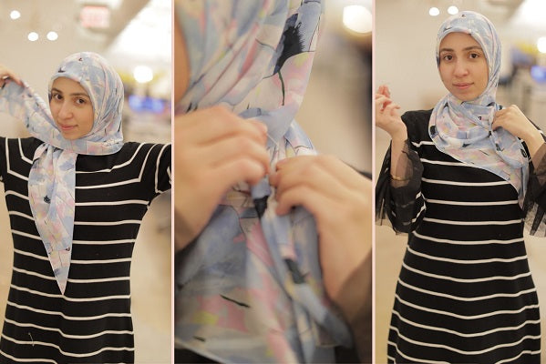6 Steps to How I Style My Chiffon Hijabs!