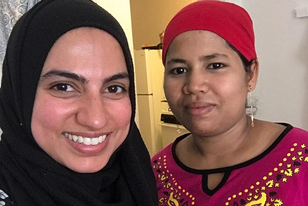 How a Need for Connection Lead A Mom to Start ICNA Relief's Mommy League