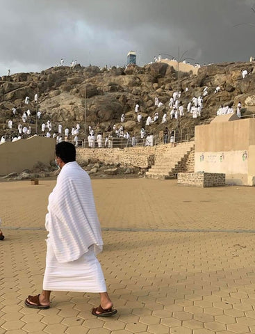 Pilgrims at Arafat during coronavirus times
