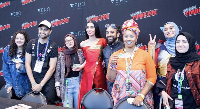 Dr. Shamika Mitchell at New York Comic-Con