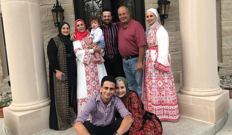 Haneen Gharbieh and her family
