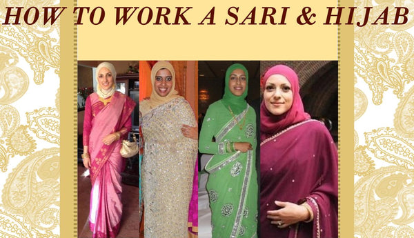 A Hijabi 39 S Guide To Wearing A Sari With Hijab By Nadwah Khan
