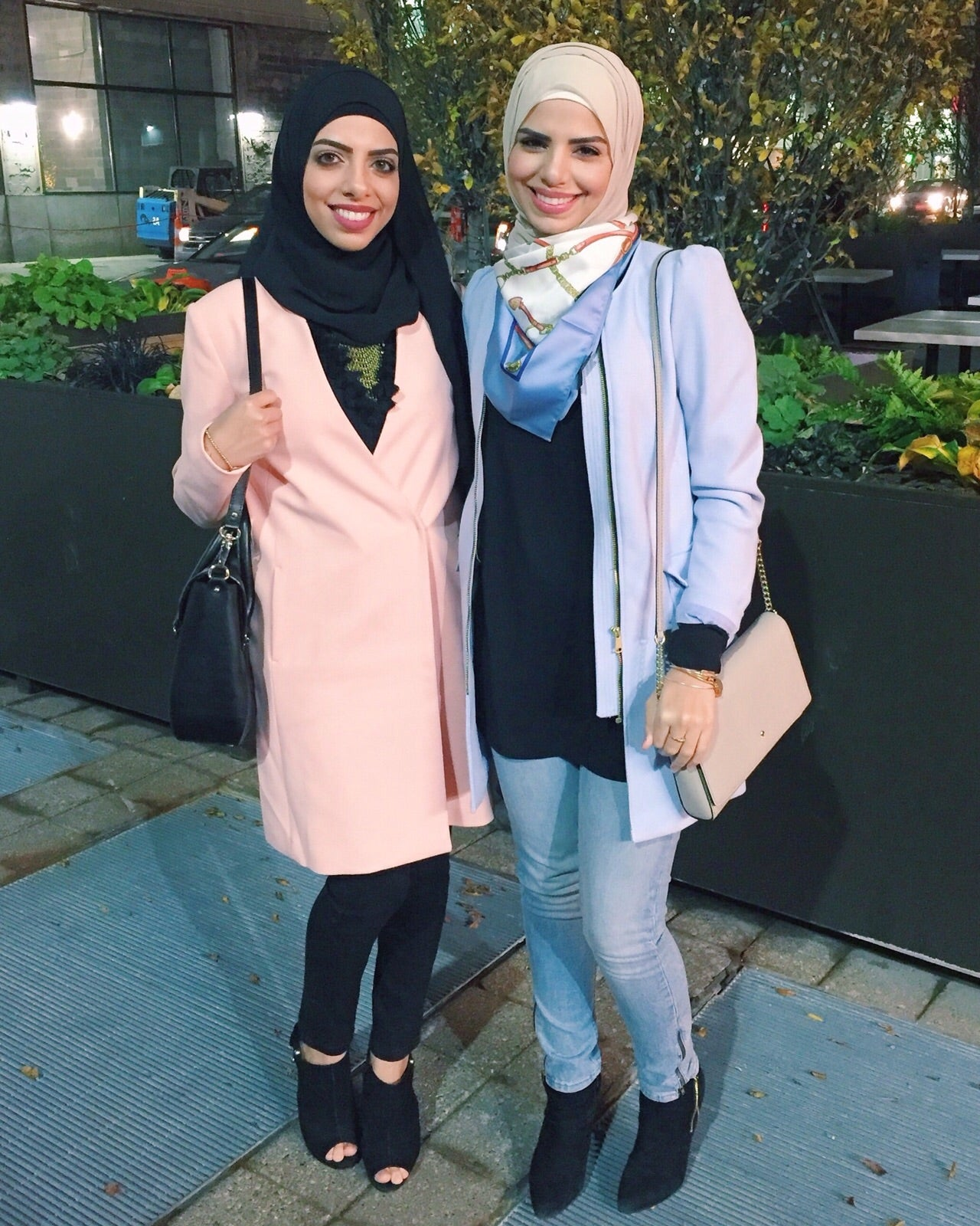 Farah Jay Heba Jay HH Spotted Club Haute Hijab HH Essentials Everyday Wrap Onyx