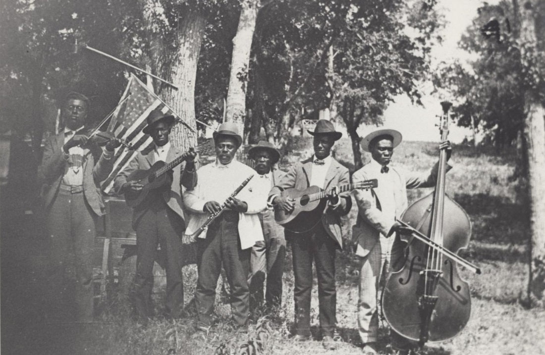 Juneteenth celebration in 1900 at Eastwoods Park. Credit: Austin History Center.