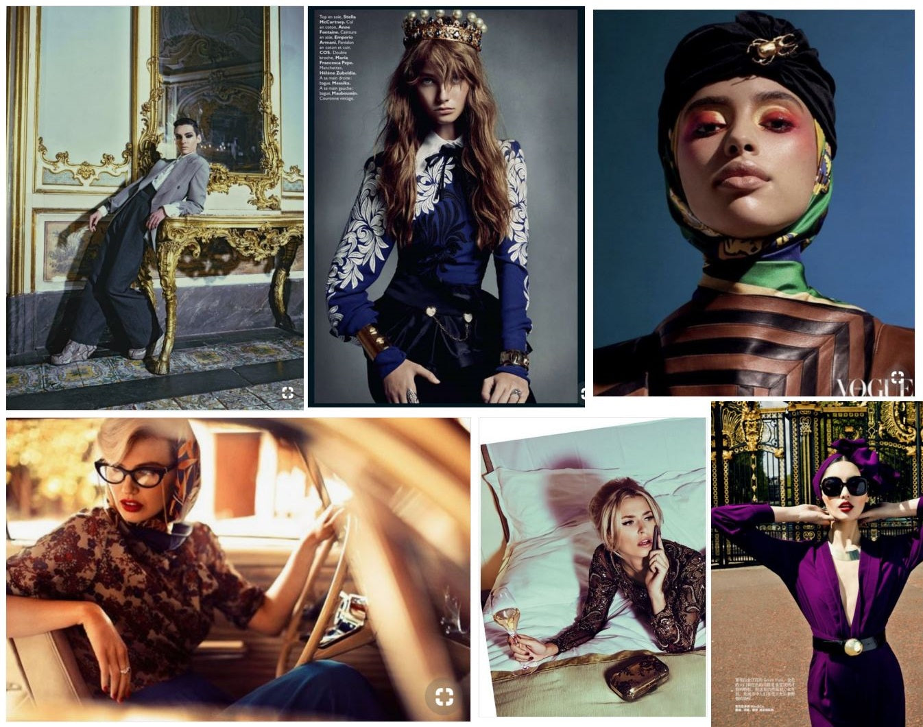 Gizelle's Mood board for Heritage Collection