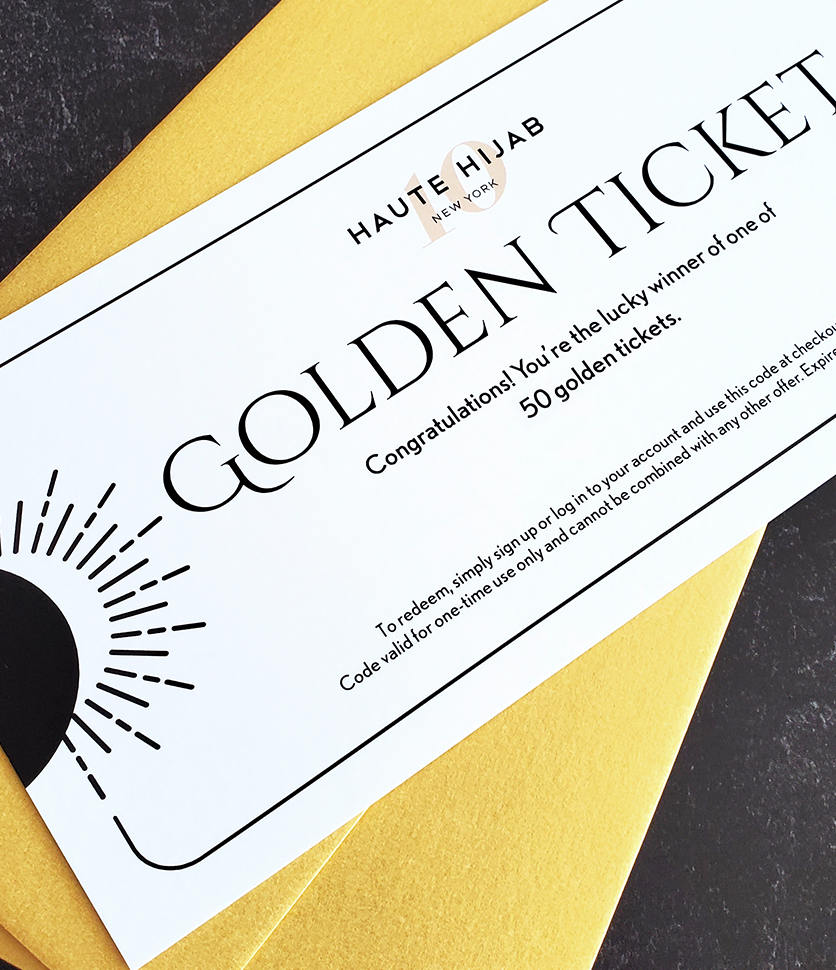 10th Anniversary Event for August: Golden Ticket