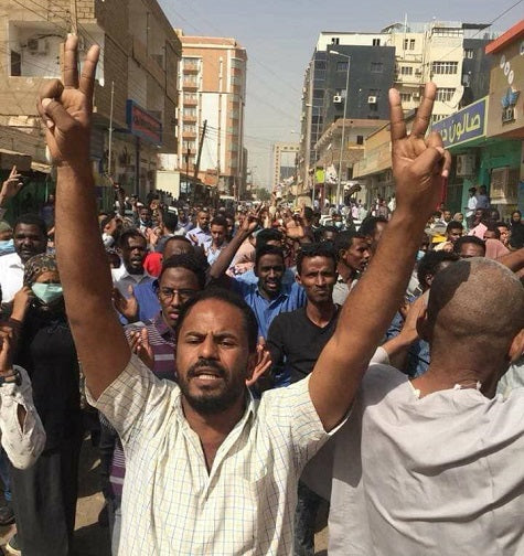 Protests in Sudan
