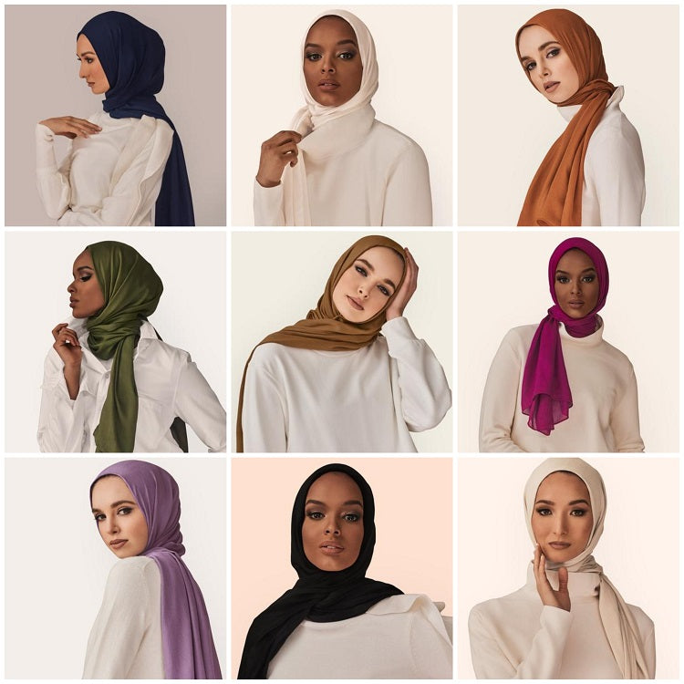Viscose Hijab colors
