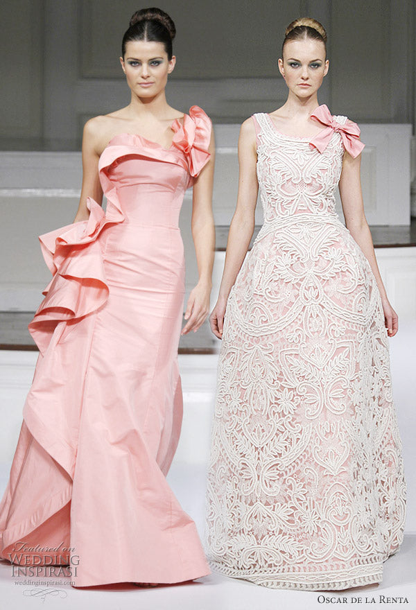 My ode to oscar de la renta style is about being yourself for Jessica designs international wedding dresses