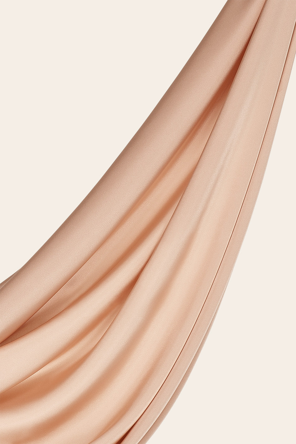Perfect Satin Hijab - Gold