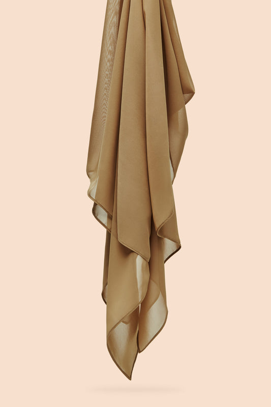 Everyday Chiffon Hijab - Toffee