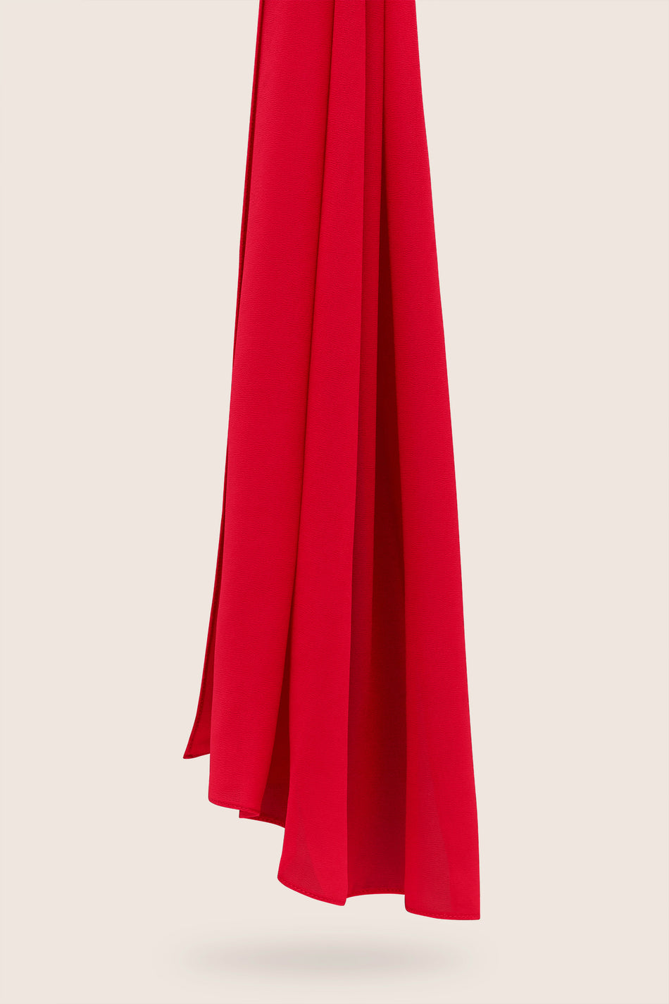 Everyday Georgette Hijab - Fire Engine Red