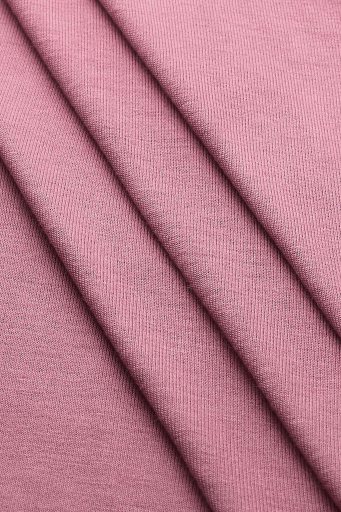 Premium Jersey Hijab - Dusty Rose