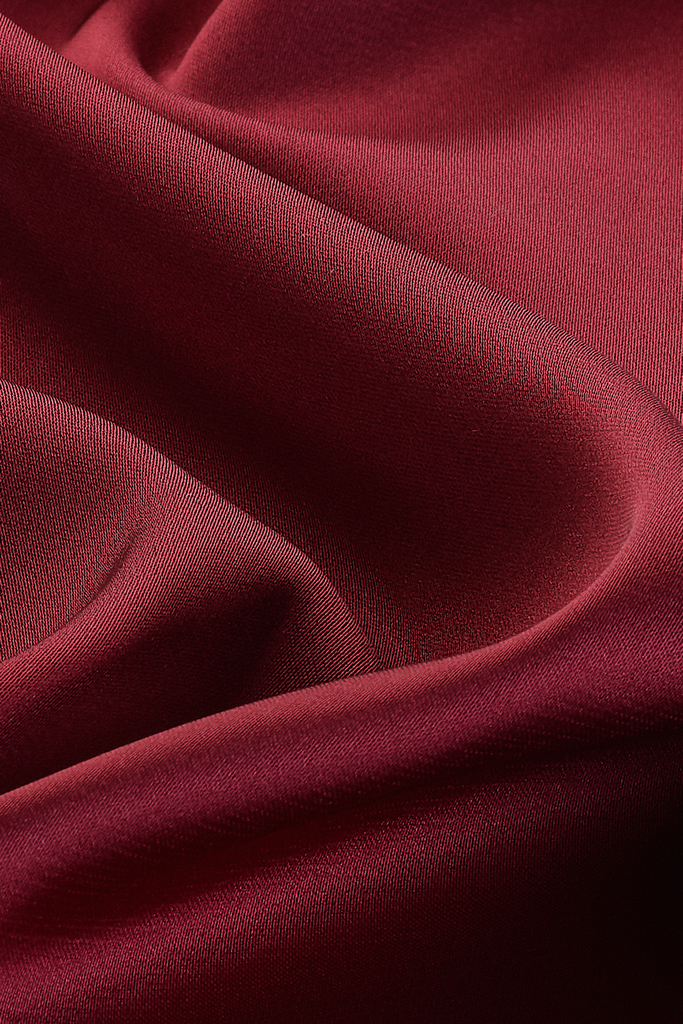 Perfect Satin Hijab - Garnet