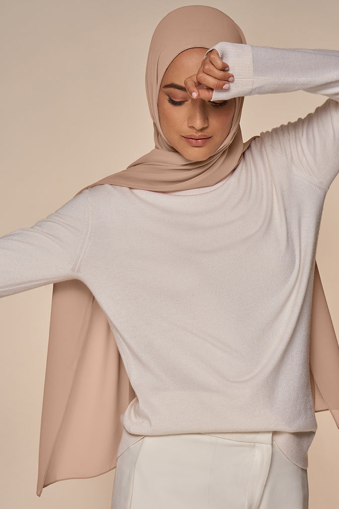 Everyday Chiffon Hijab - Blush