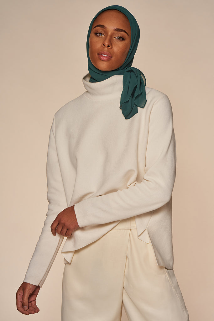 Everyday Chiffon Hijab - Hunter Green