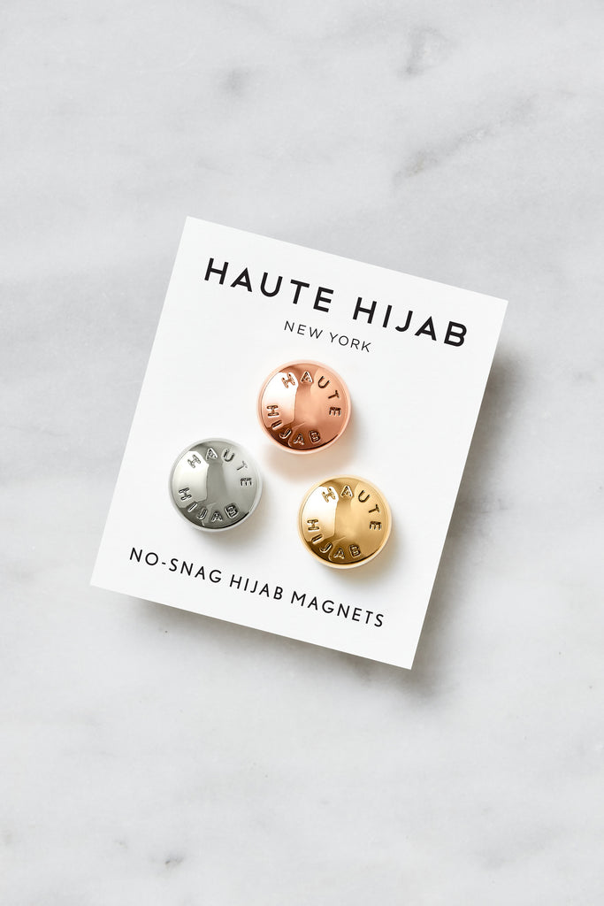 No–Snag Hijab Magnets - Multi