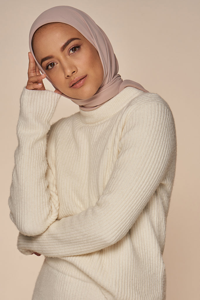 Everyday Chiffon Hijab - Light Mink