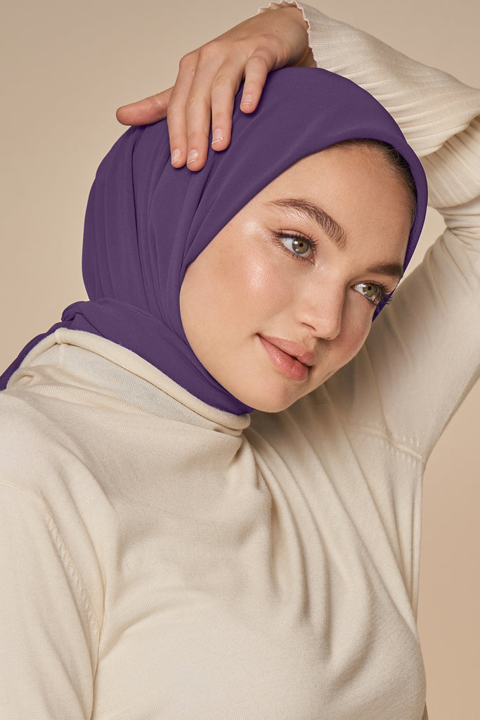 Everyday Chiffon Hijab - Royal Purple
