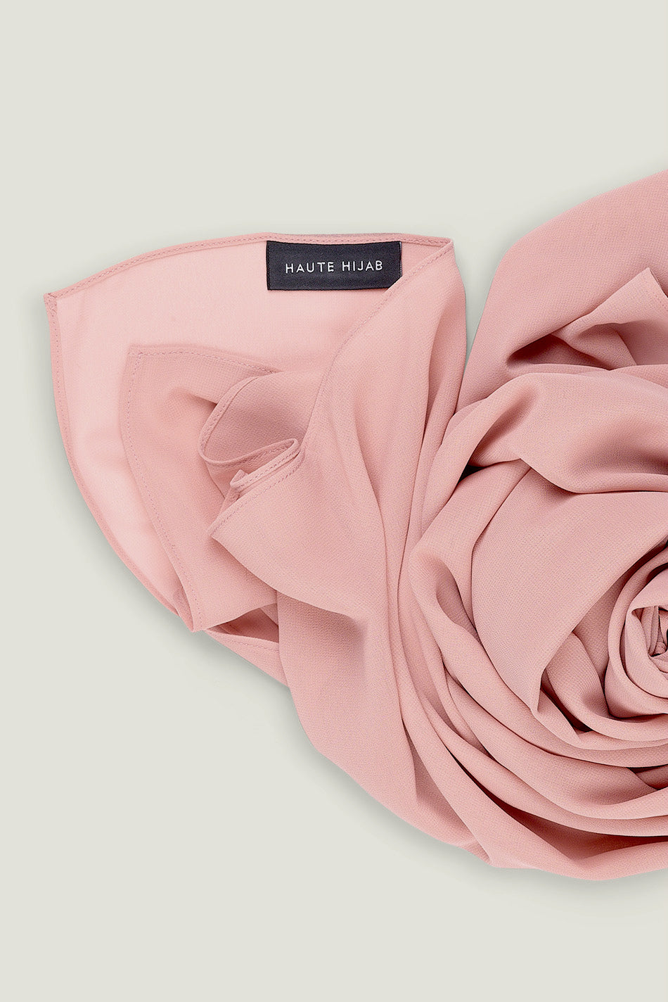 Everyday Georgette Hijab - Rose