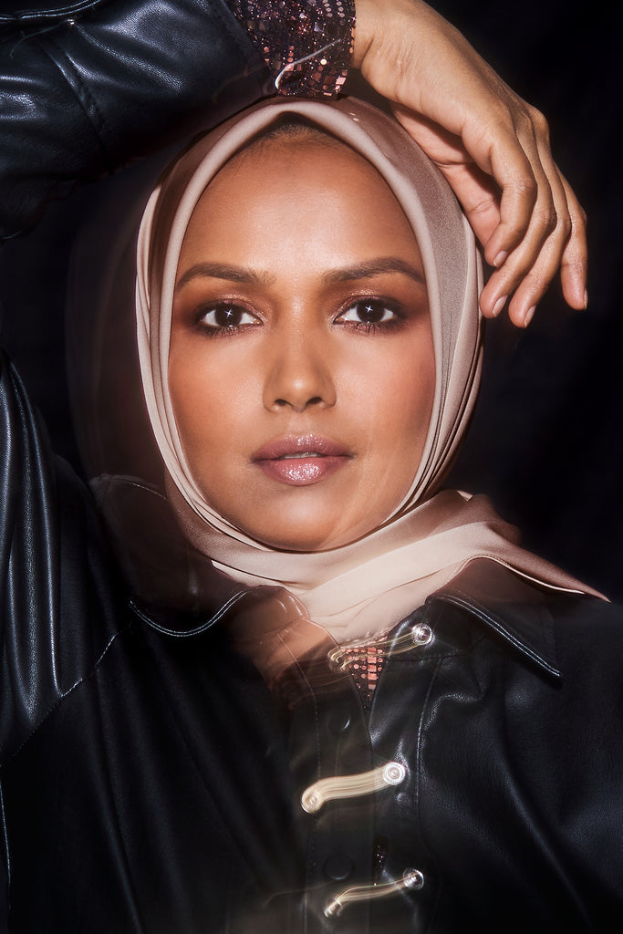 Perfect Satin Hijab - Rose Taupe