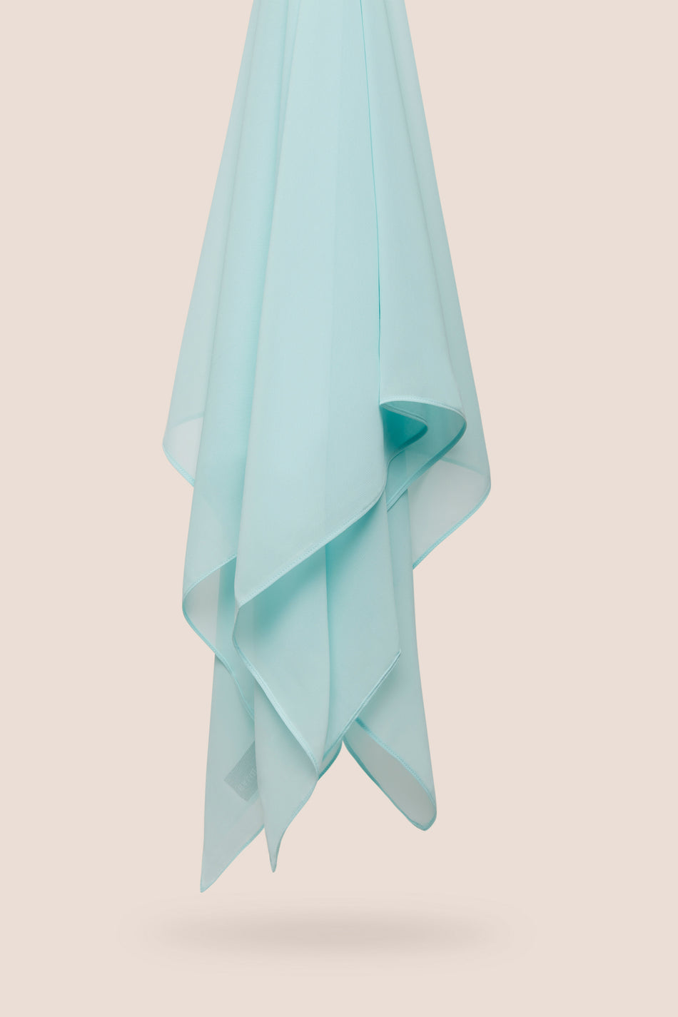 Everyday Chiffon Hijab - Light Aqua