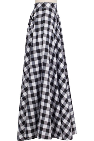 Grand Ball Skirt - Gingham
