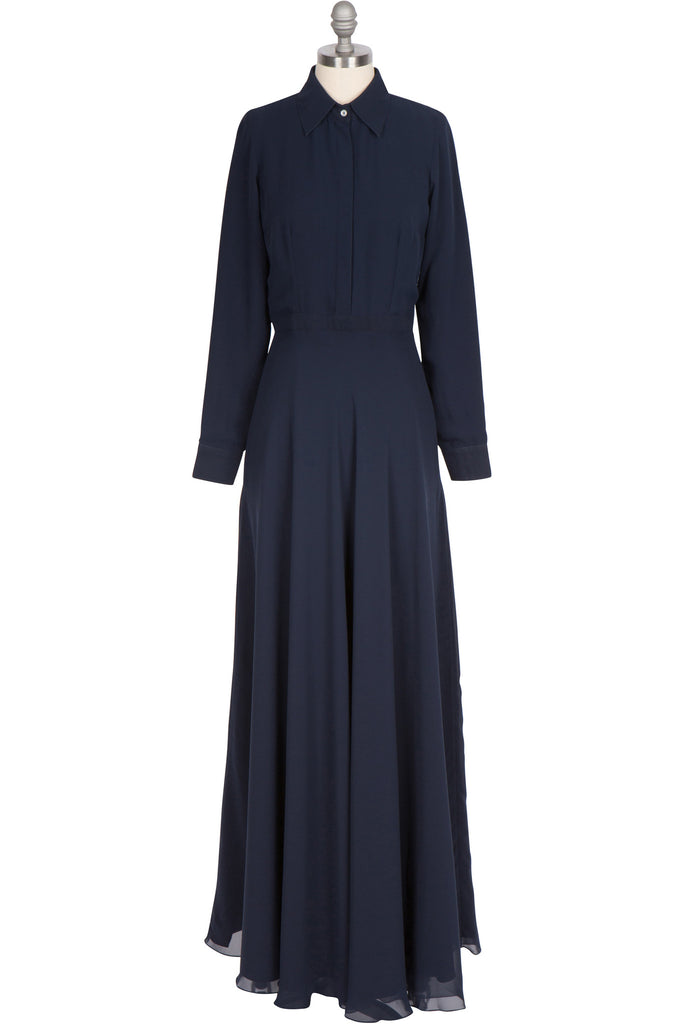Clothing - The Florence Dress - Navy