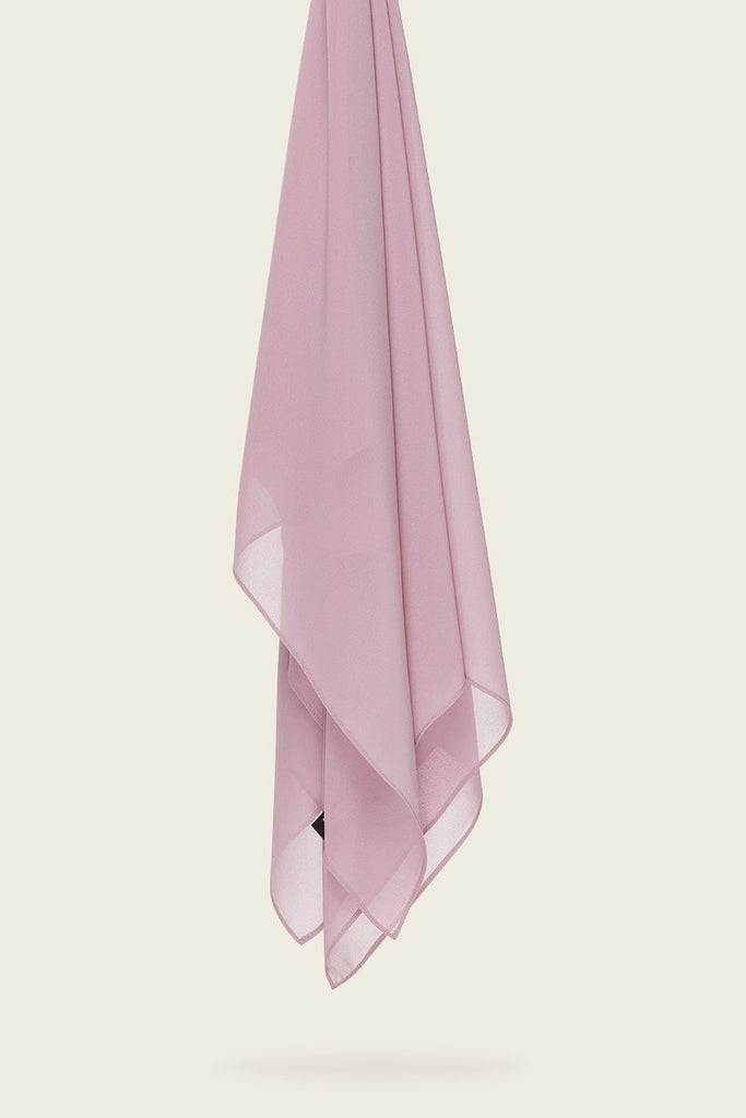 Everyday Chiffon Hijab - Dusty Lilac