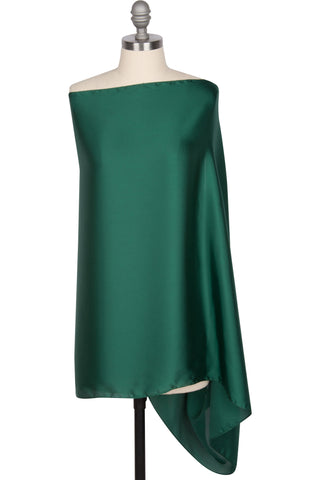 Perfect Satin Wrap - Emerald