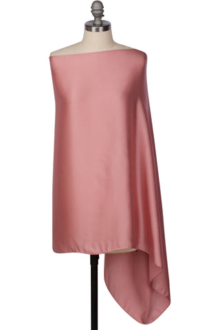 Perfect Satin Wrap - Rose