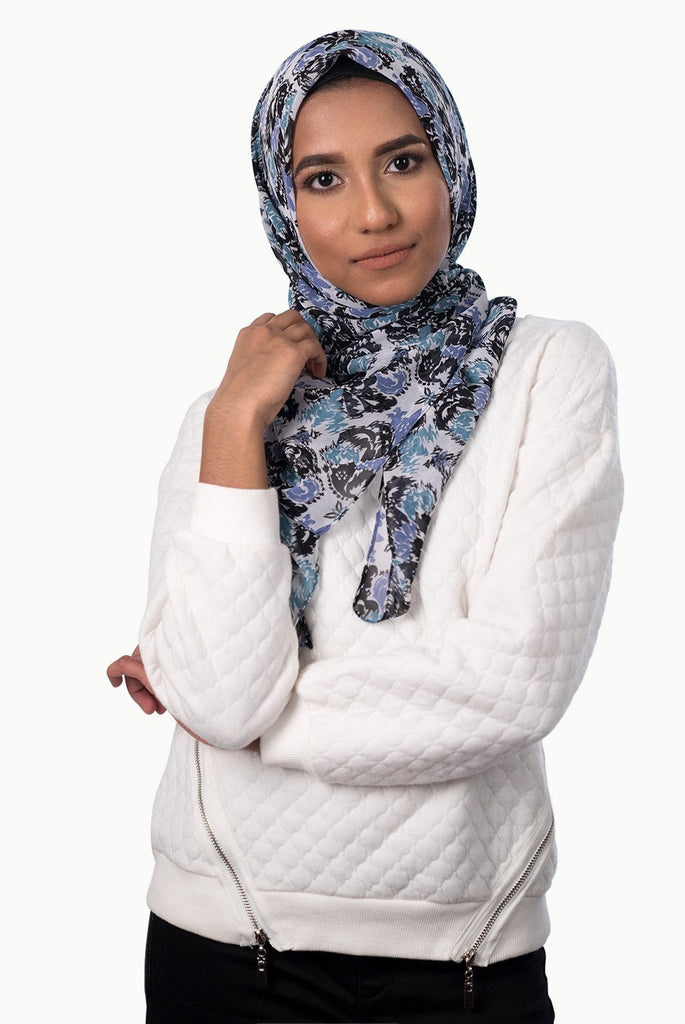 Printed Hijabs - Winter Lights Hijab