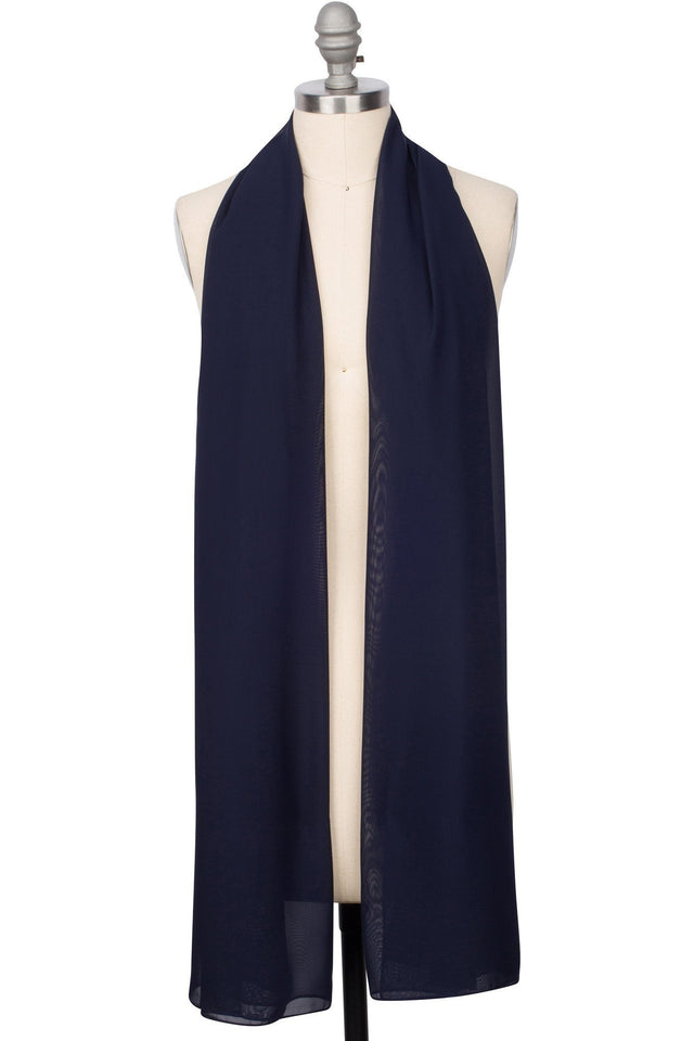 Perfect Everyday Hijab - Navy