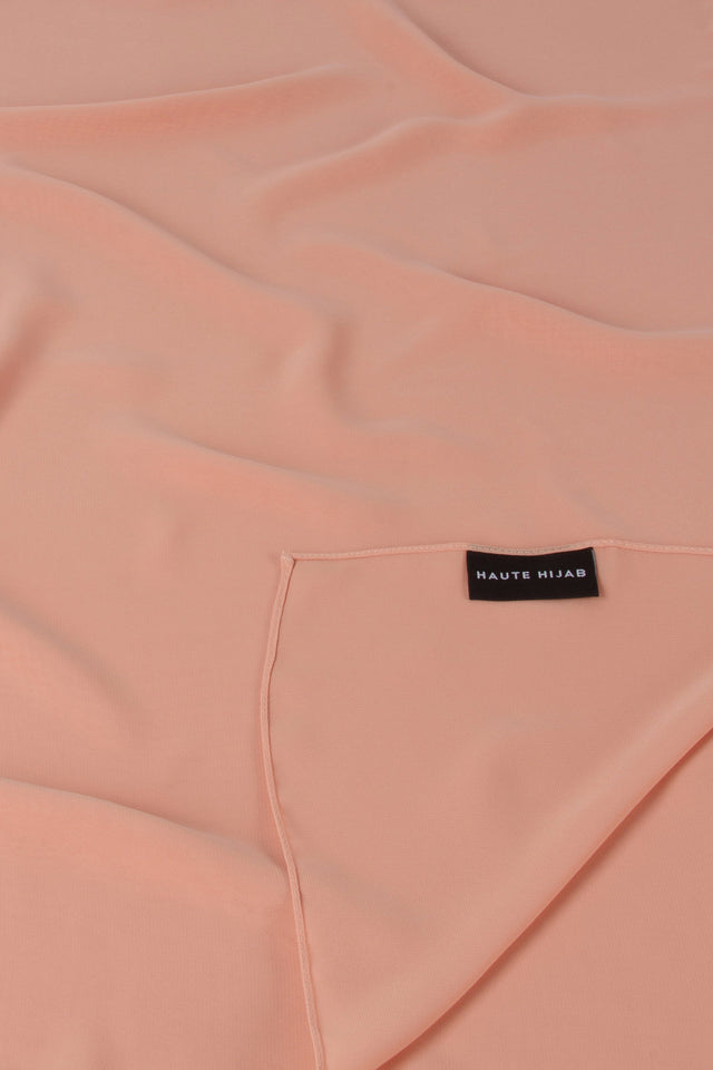 Perfect Everyday Hijab - Peach Nude